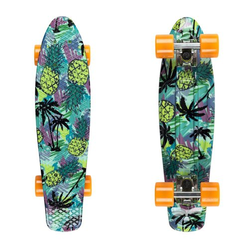 "Penny board Fish Print 22"" Pineapple"