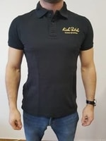 RITCH POLO SHIRT BLACK – Polo Shirt L
